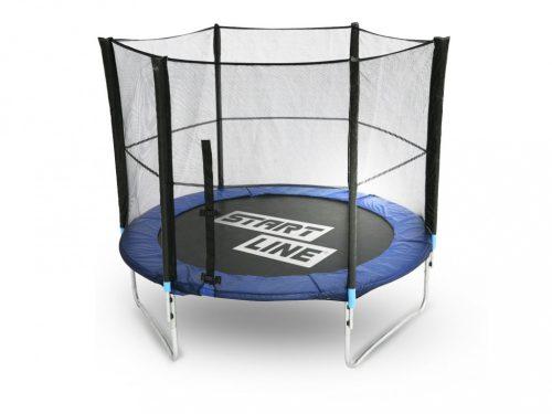 Батут StartLine Fitness 10 футов с внешней сеткой, 305 см
